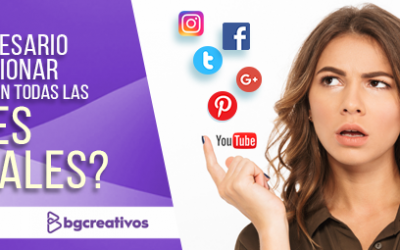 ¿Es necesario promocionar mi marca en todas las redes sociales? producción audiovisual - blog bg 400x250 - Producción Audiovisual y Marketing Digital – BGCreativos