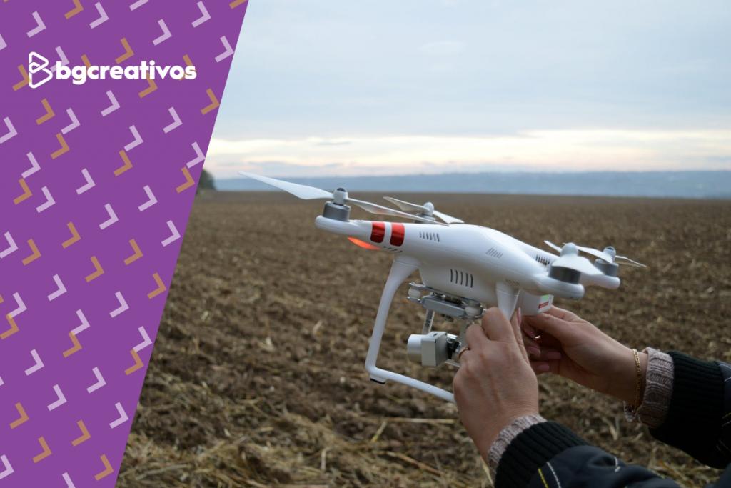 El drone es tu mejor aliado para impulsar desde las alturas a tu marca. drone - Drone para empresas bg creativos blog 1024x683 - Razones por las que tu empresa necesita fotografía y video con drone
