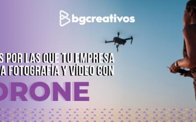 Razones por las que tu empresa necesita fotografía y video con drone producción audiovisual - Razones por las que tu empresa necesita fotograf C3 ADa y v C3 ADdeo con drone blog 400x250 - Producción Audiovisual y Marketing Digital – BGCreativos